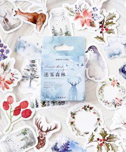 Stickers - Klistermärken Vinterland