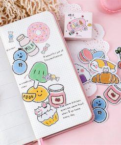 Stickers - Klistermärken mat & dryck - Cartoon