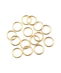 Motringar / jumprings 200 st guld 5mm